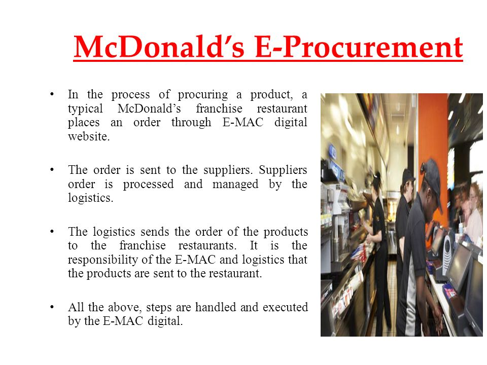 mcdonald s operations and material management Operations management is an activity of management which is concerned with the production and delivery of products and service to an organization the operations functionis the part of the organization that is responsible for this activity.