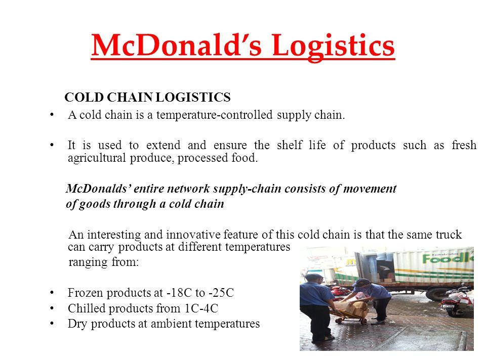 Mcdonalds cold temp deals
