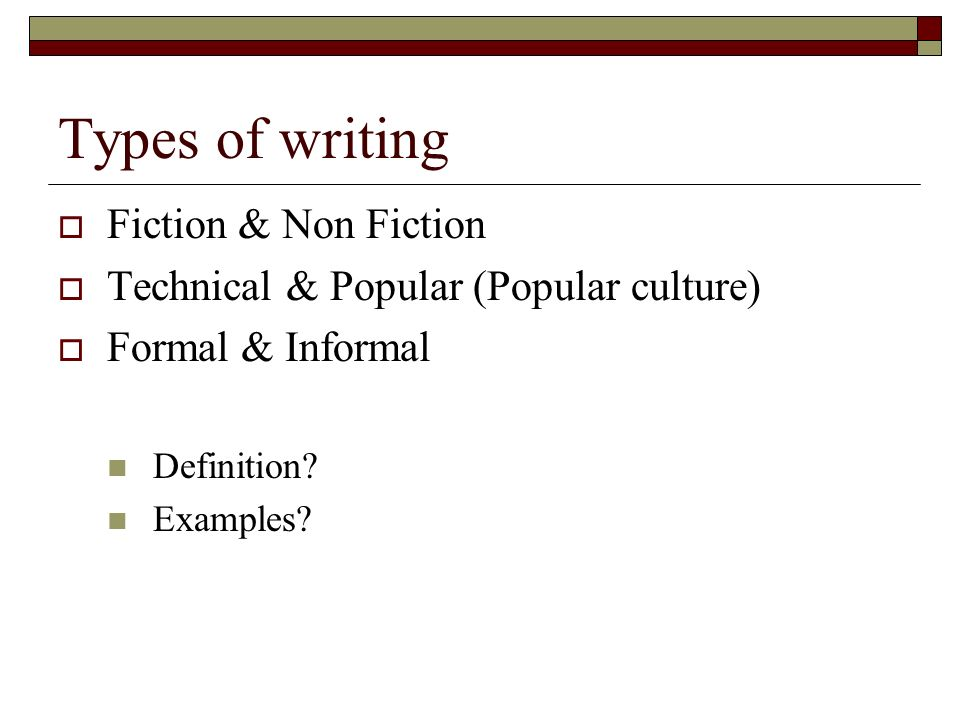 creative writing nonfiction examples