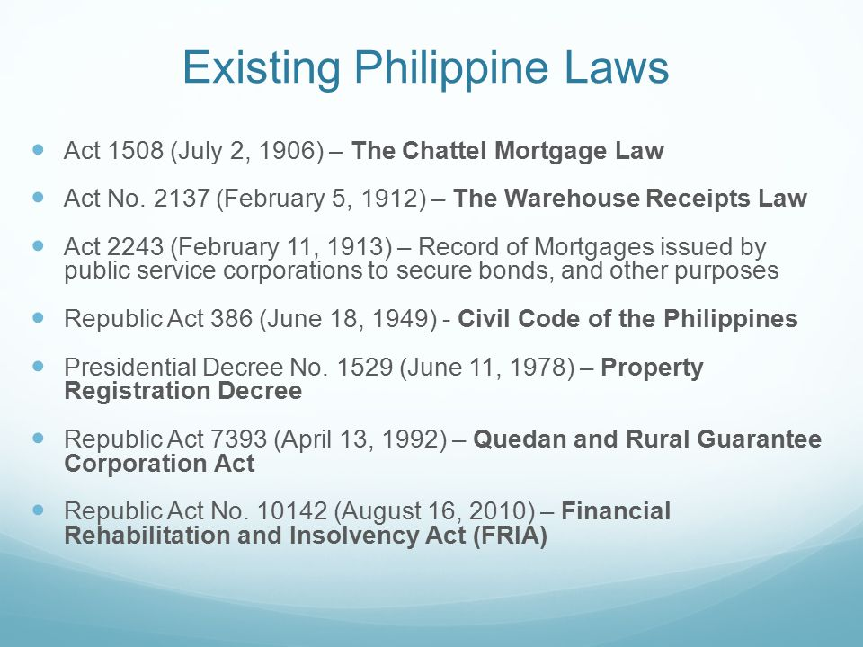 philippine civil code obligations general Labor code of the philippines labor standards  civil law obligations and contracts  by reynaldo u agranzamendez 1997 rules of civil procedure1991 revised.