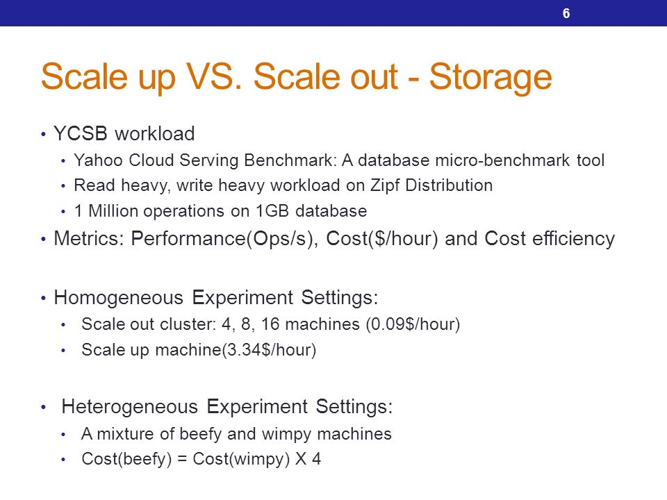 Scale Out Storage