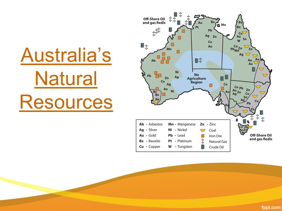 natural resources in australia Natural resources are substances that occur naturally you can see many natural resource examples in nature.