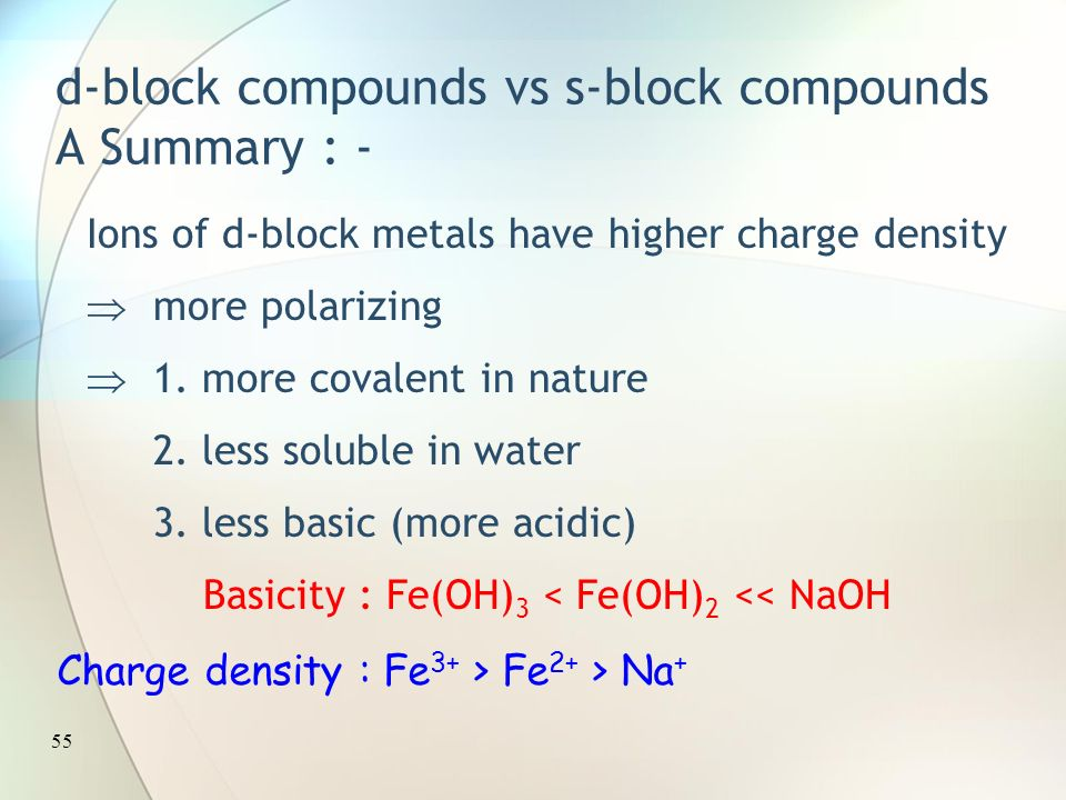 The d block elements ppt download 55 d block urtaz Images