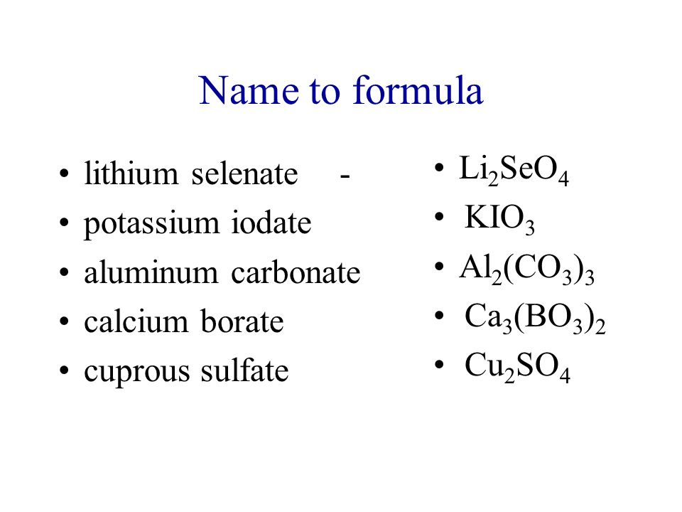 Nomenclature Of Inorganic Compounds Ppt Video Online Download