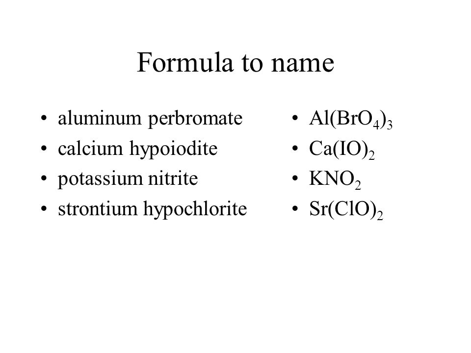 Nomenclature of Inorganic Compounds - ppt video online ... | 960 x 720 jpeg 41kB