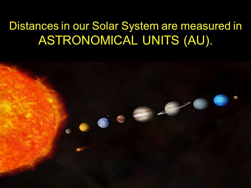 solar system distances au - photo #16