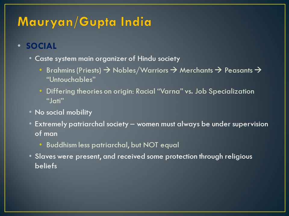 mauryan gupta india vs han china methods of political control We will write a custom essay sample on han china vs gupta india specifically for you  imperial rome and mauryan/gupta india   political control in han china .