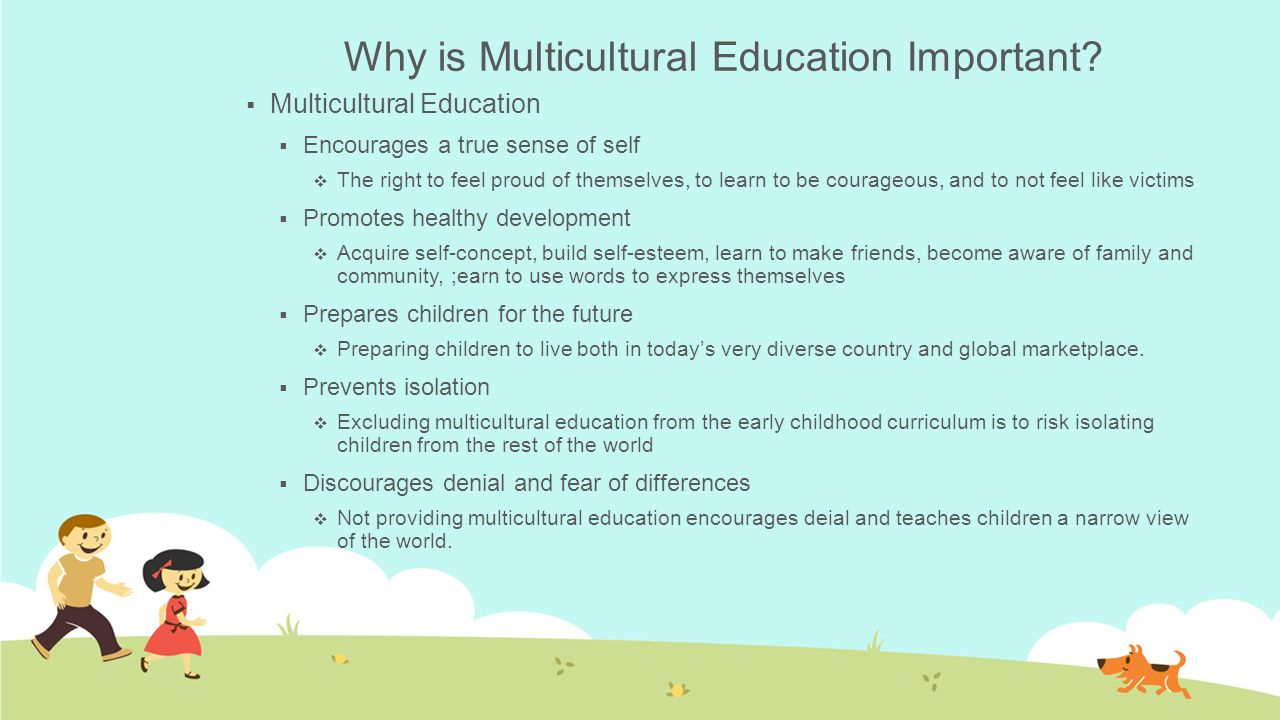 Why is Multicultural Education Important