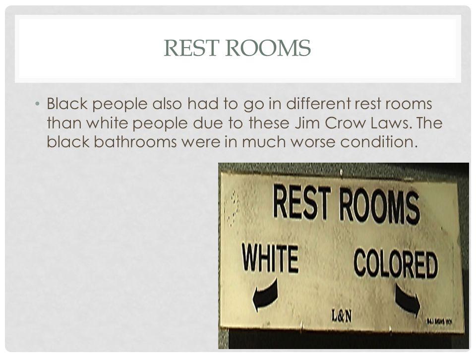 jim crow laws photo essay ppt video online  6 rest