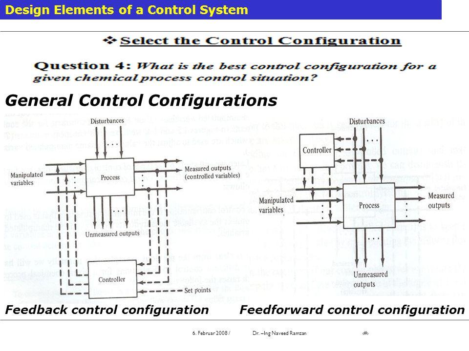 General Control Configurations