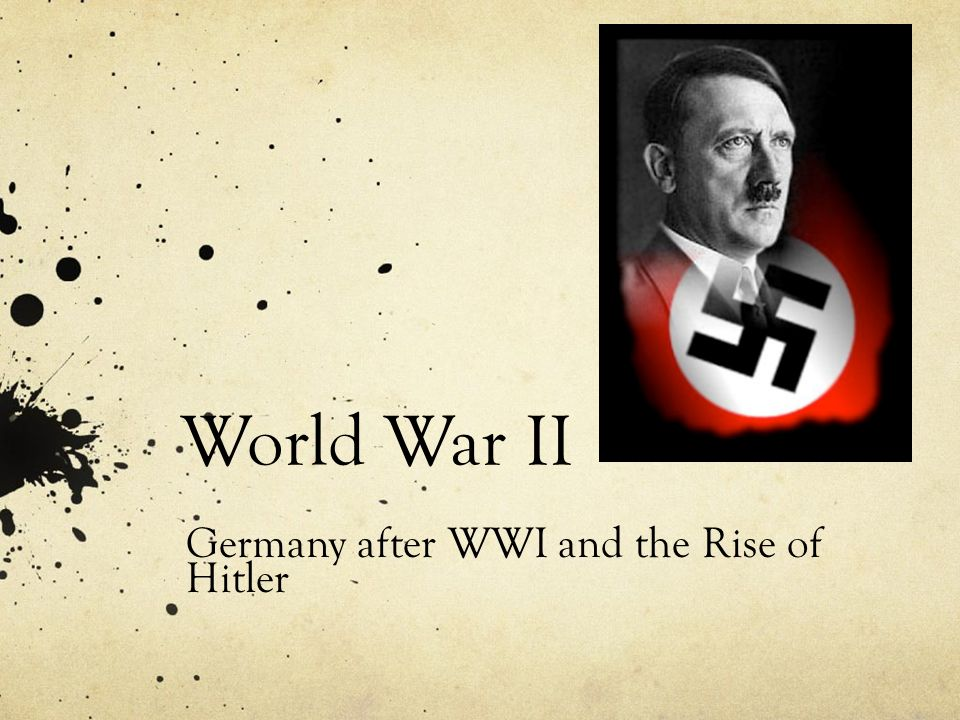 hitler and world war ii