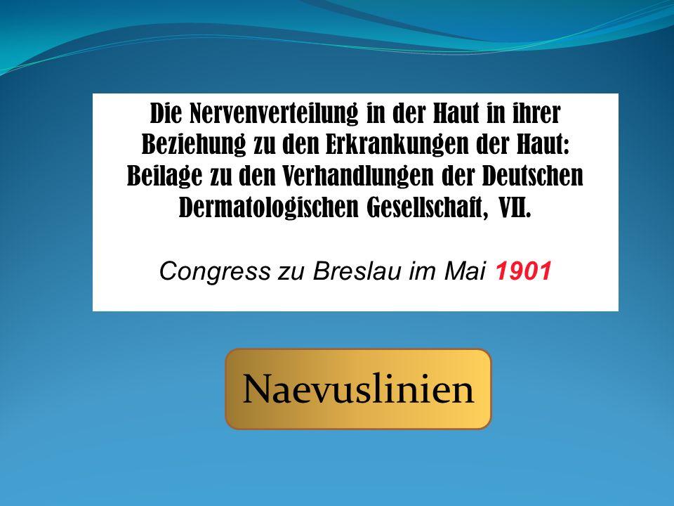 Congress zu Breslau im Mai 1901