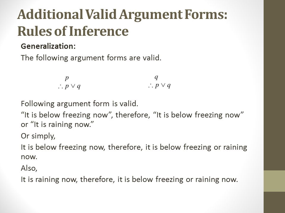 Rules of Inference Dr. Yasir Ali. - ppt video online download