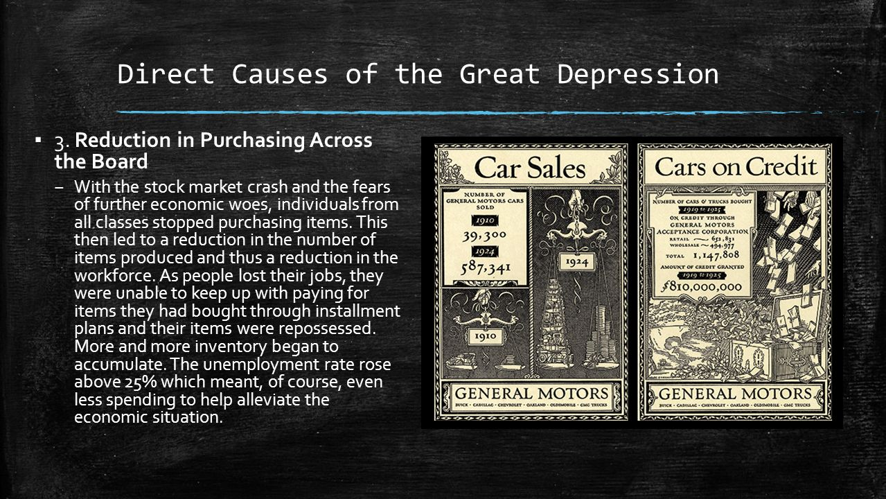 causes of great economic depression pdf