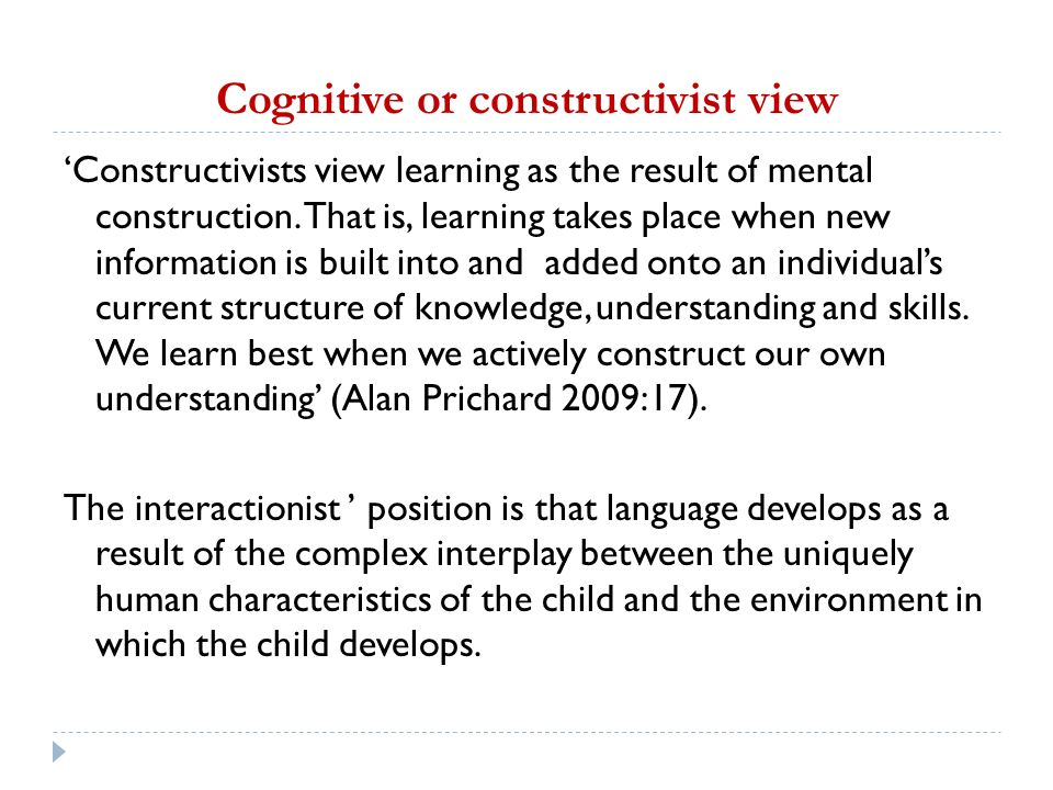 constructivist approach to drama in the Teachers reported that creative drama-based instruction had teachers develop  more constructivist approach in teaching and learning implications and future.