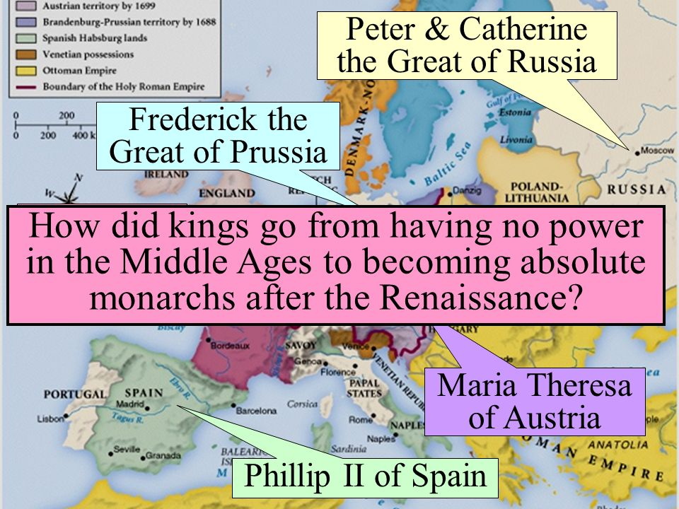 the actions of the absolute monarch catherine the great during the age of enlightenment in europe Modern world history: chapter 5 absolute monarchs in in his native country by the educated public during the age of enlightenment catherine ii the great.