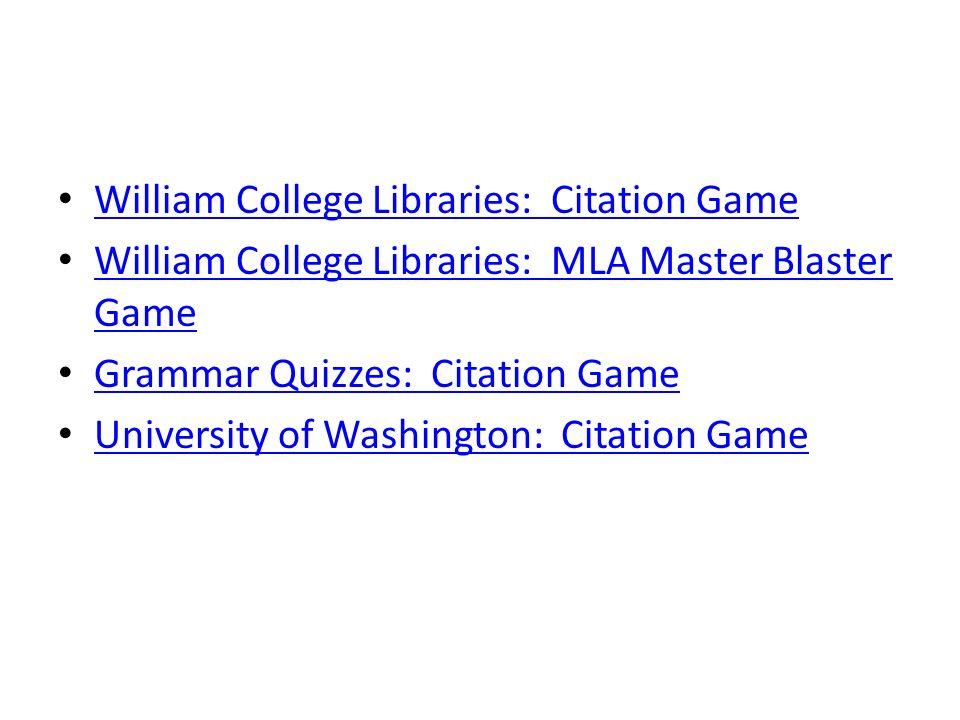 Quiz research paper citation
