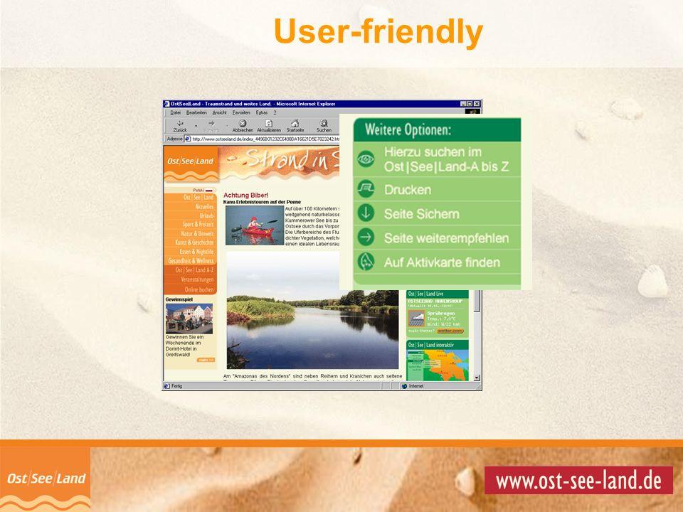 User-friendly