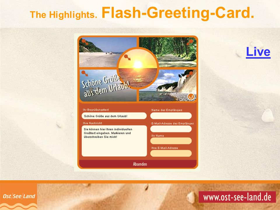 The Highlights. Flash-Greeting-Card.