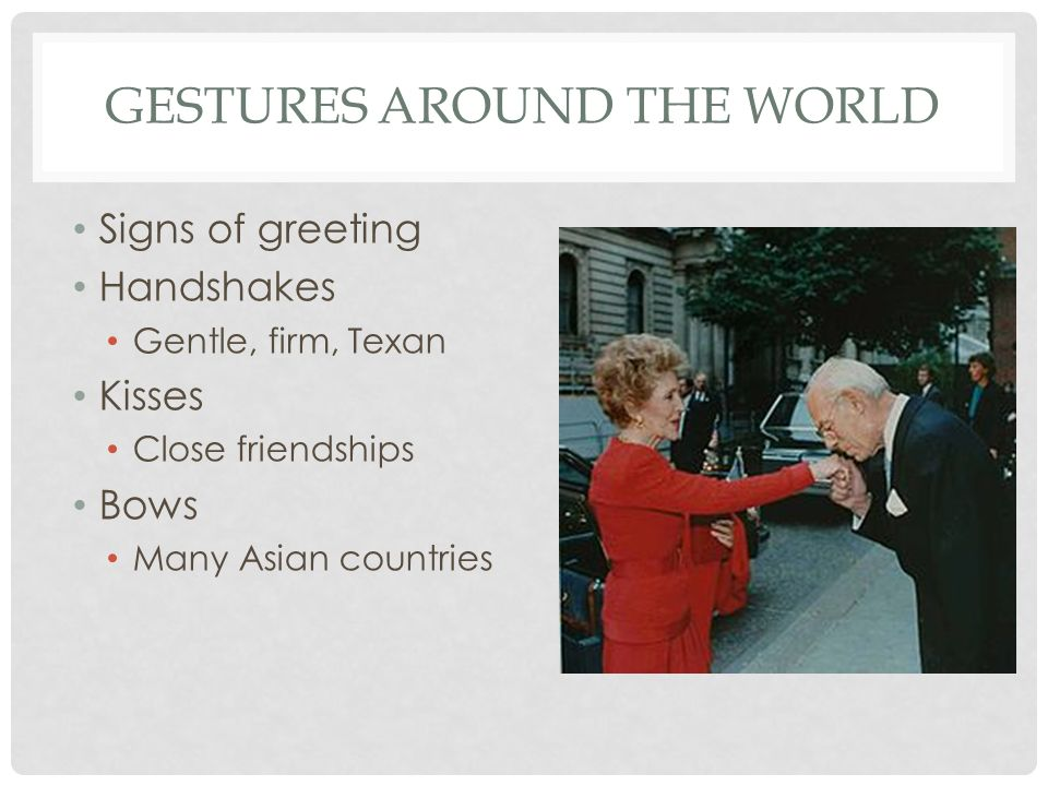 Nonverbal communication ppt video online download gestures around the world m4hsunfo Gallery