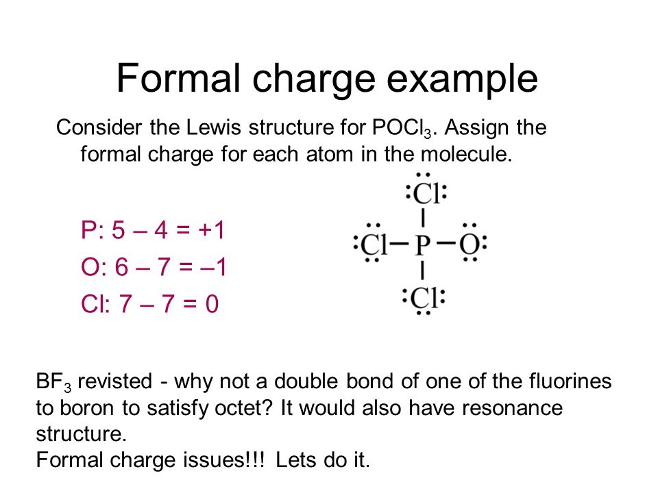 What is the formal charge of SO2?