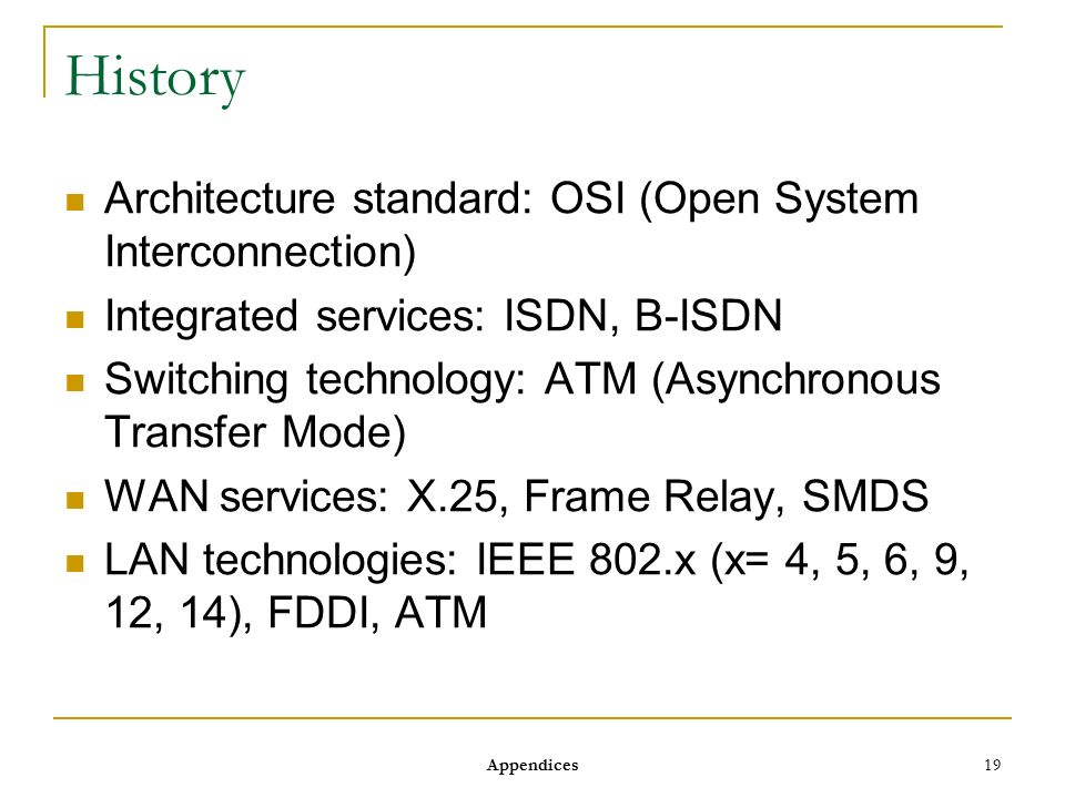 Modern computer networks an open source approach ppt for B isdn architecture