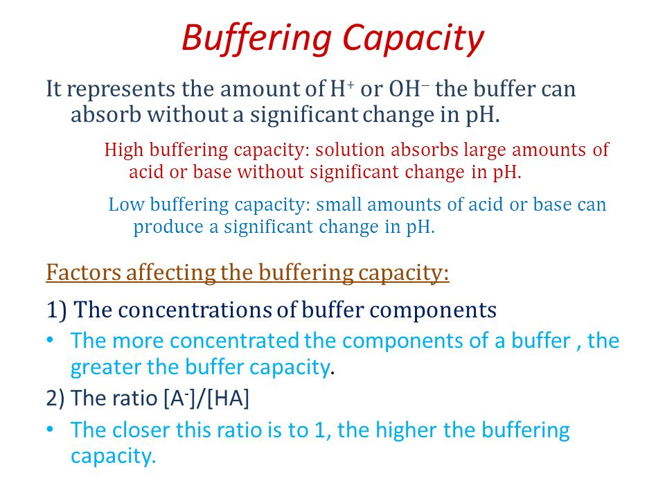 buffer capacity Pflugers arch 1995 jan429(3):452-4 comparison of the buffer capacity of endocytotic vesicles, lysosomes and cytoplasm in cells derived from the proximal tubule of the kidney (opossum kidney cells) gekle m(1), silbernagl s author information: (1)department of physiology, university of würzburg, germany.