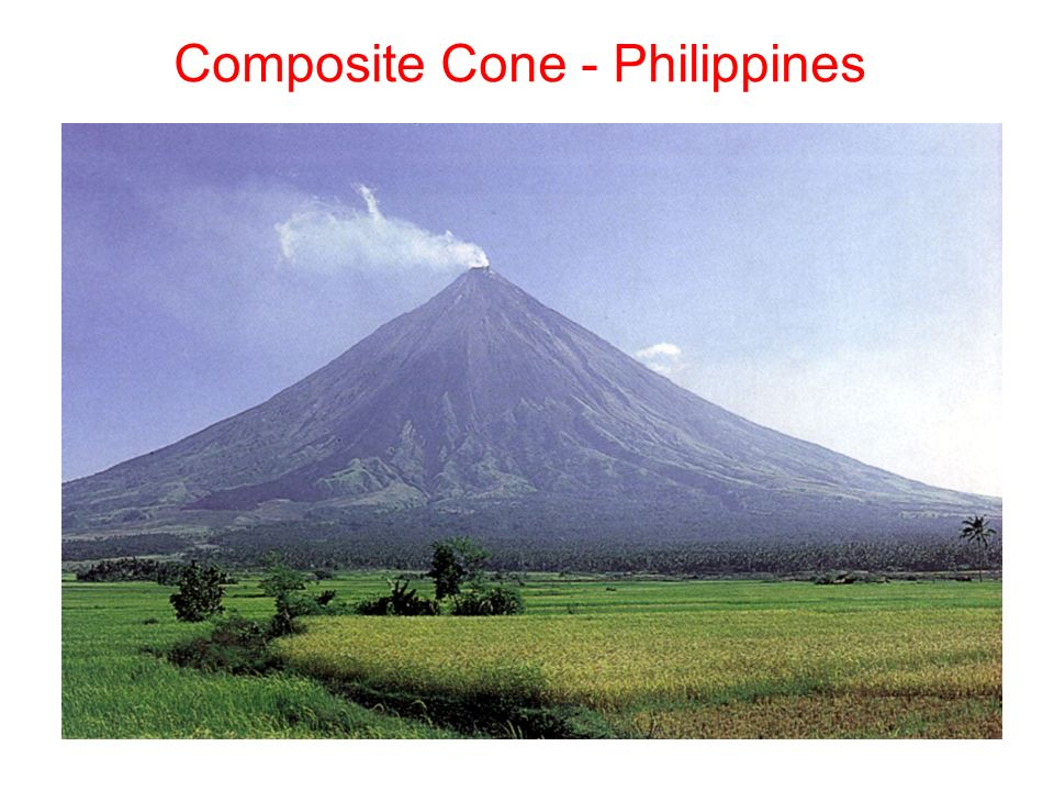 Composite Cone Volcano : Overview of volcanoes gentle eruption lava flows ppt
