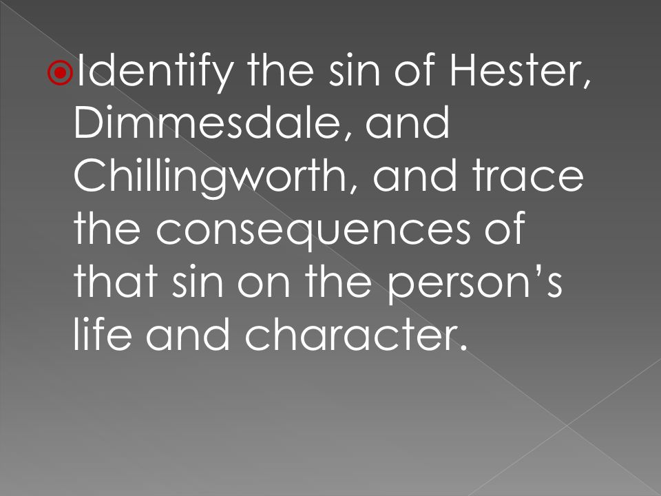 dimmesdale essay The the scarlet letter characters covered include: hester prynne, pearl, roger chillingworth, reverend arthur dimmesdale suggested essay topics.