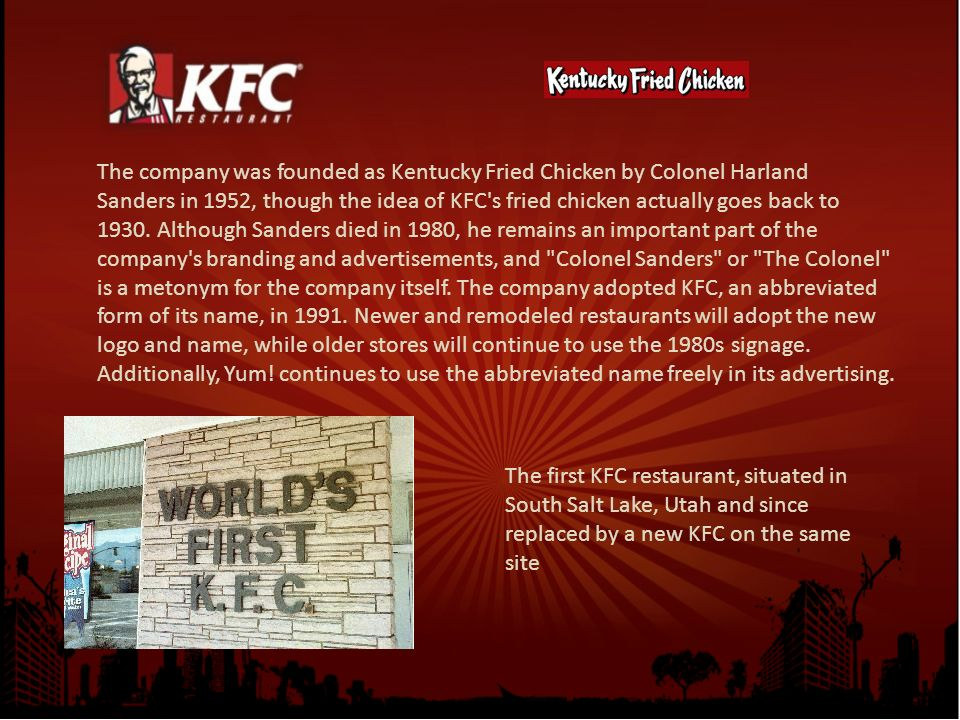 an analysis of colonel harland sanders secret recipe Colonel harland sanders' original recipe of 11 herbs and spices is one of the most sought-after food recipes in the world it's also one of the best-protected but could the secret to kfc chicken finally be out.