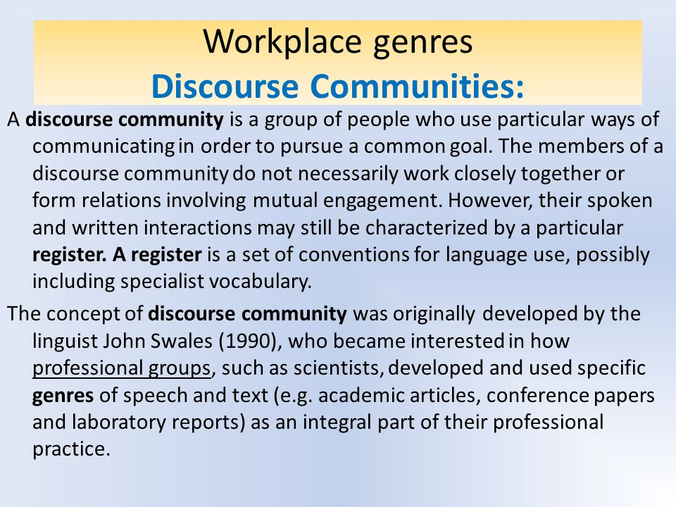 4 types of discourse pdf