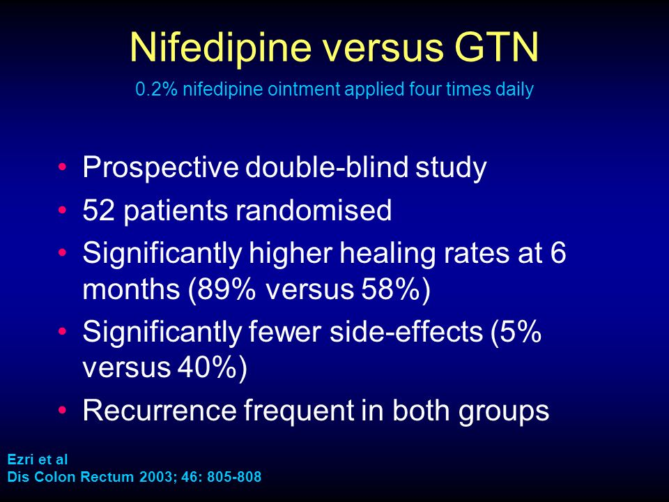 Nifedipine Side Effects Baby
