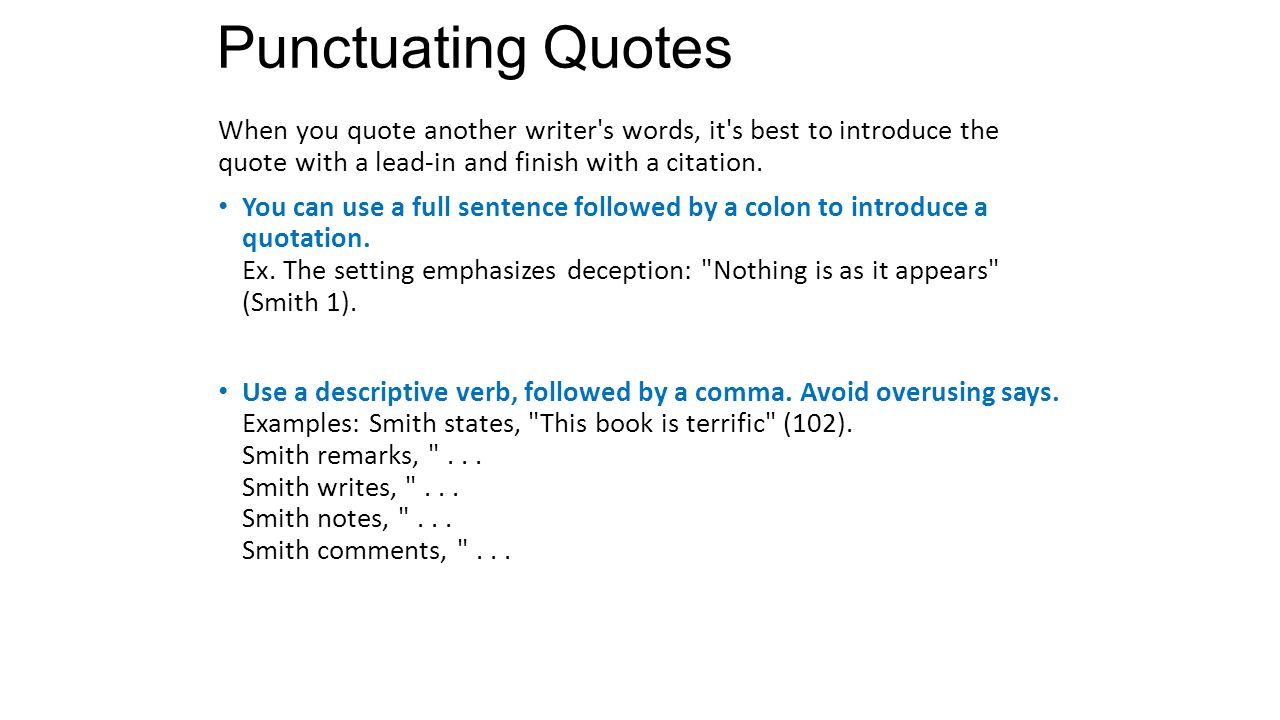 Quote Punctuation Quote Punctuation Simple Dwt5 Punctuation  Nytimessportsbookslist