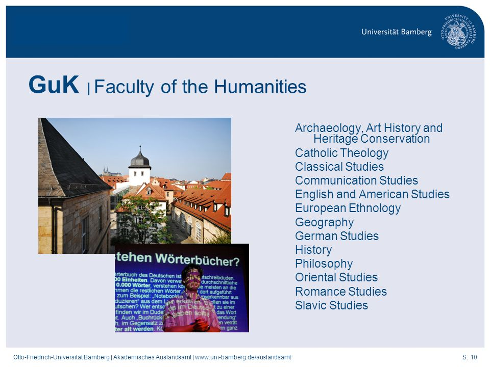 GuK | Faculty of the Humanities