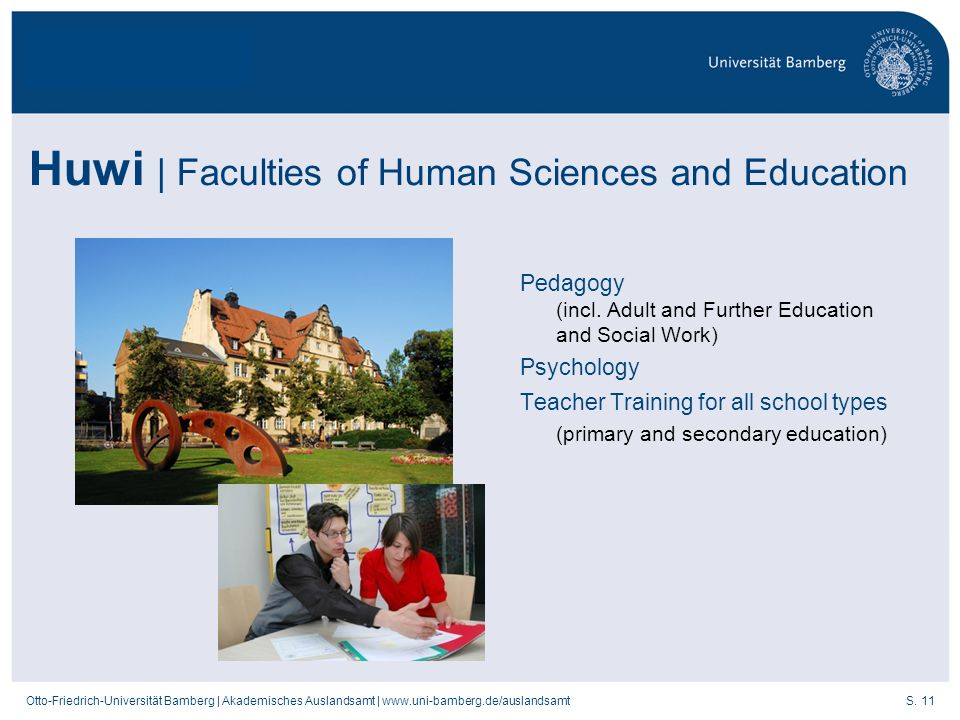 Huwi | Faculties of Human Sciences and Education