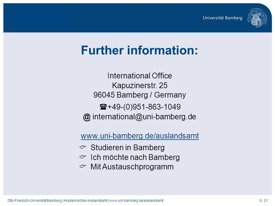 @ international@uni-bamberg.de