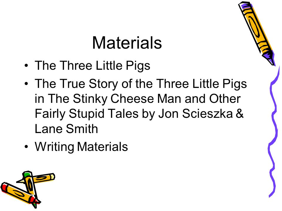 an analysis of the true story of the 3 little pigs by jon scieszka About se the true story of the three little pigs the book that launched the careers of jon scieszka and lane smithnow a bilingual flip-over book.
