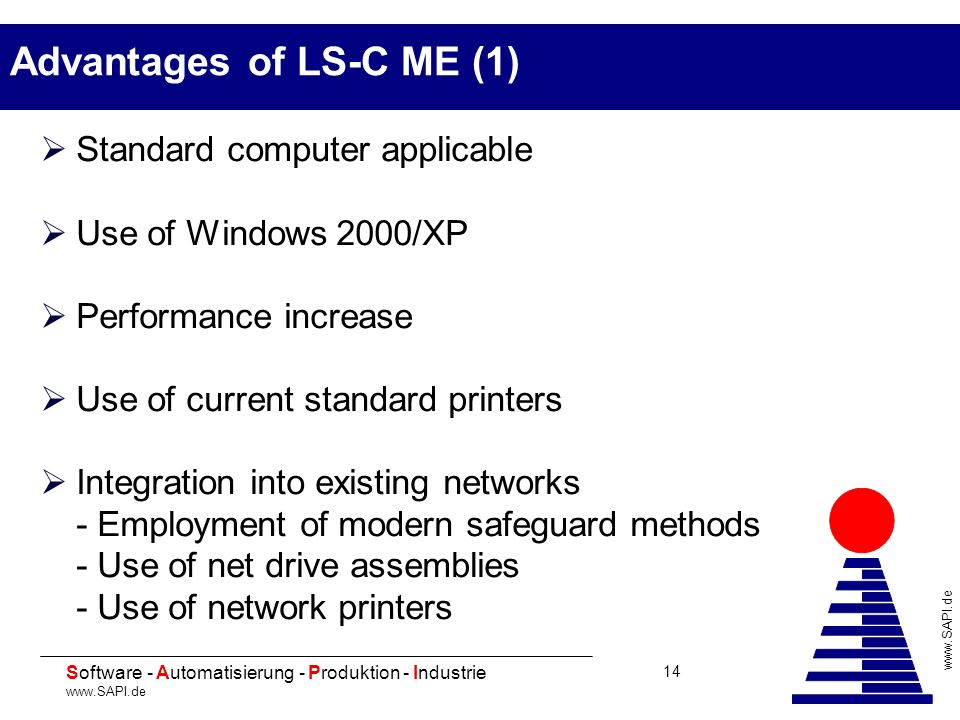 Advantages of LS-C ME (1)