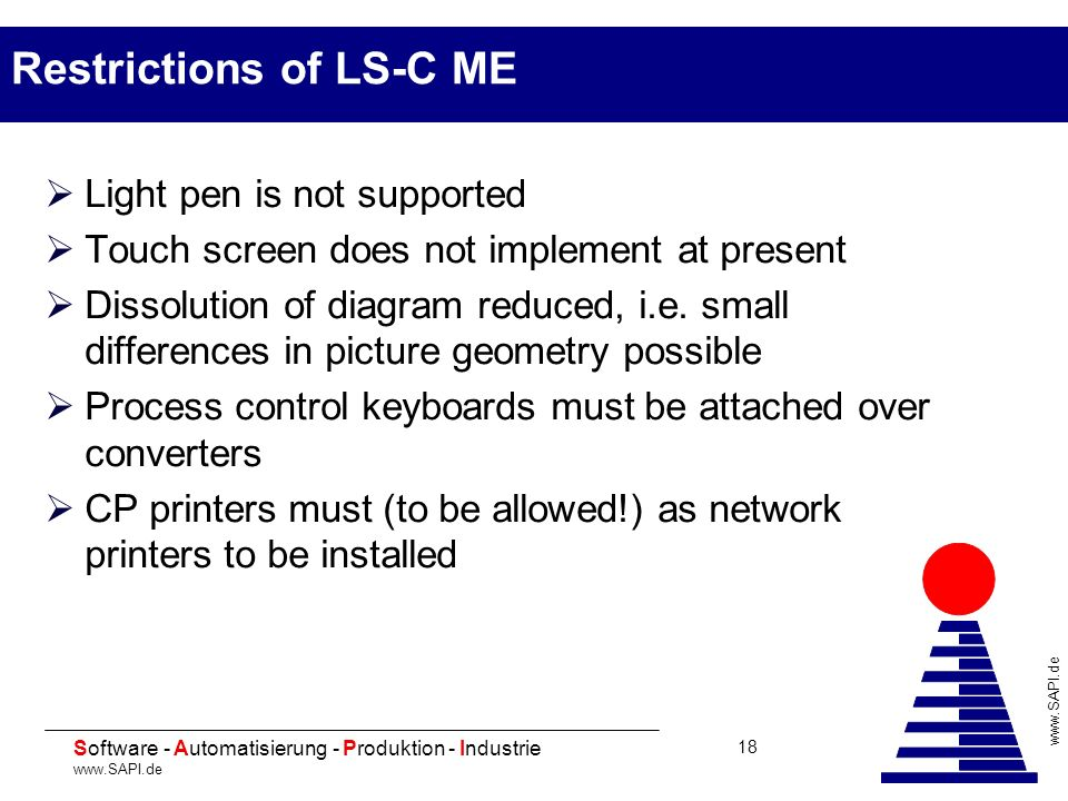 Restrictions of LS-C ME