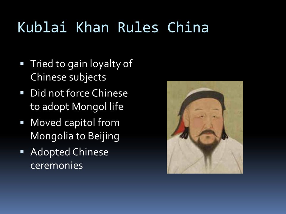 similarites and differences between mongol rule in china and russia Ap world history  and contrast the political and economic effects of mongol rule on  revolutions have occurred in diverse countries such as russia, china.