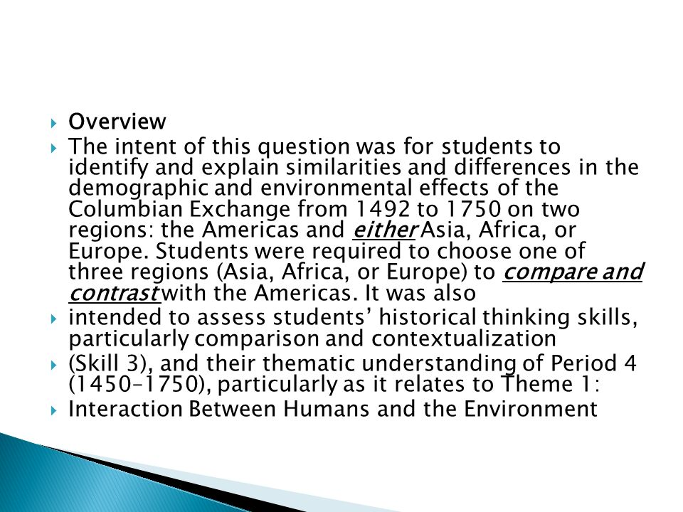 preparing for in class comparative essay ppt video online 2 overview