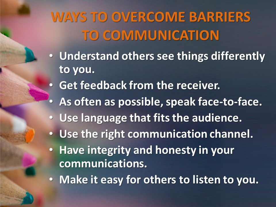 barriers in electronic communication Electronic data interchange it distinguishes mere electronic communication or data exchange there are a few barriers to adopting electronic data interchange.