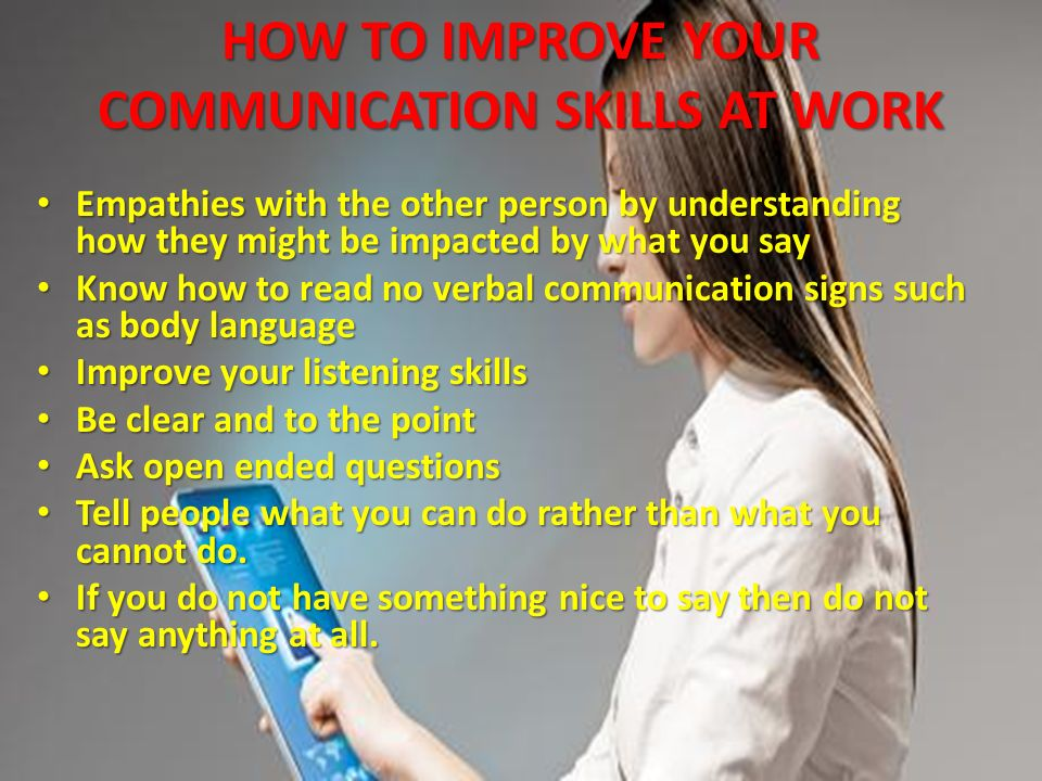 communication skills ppt