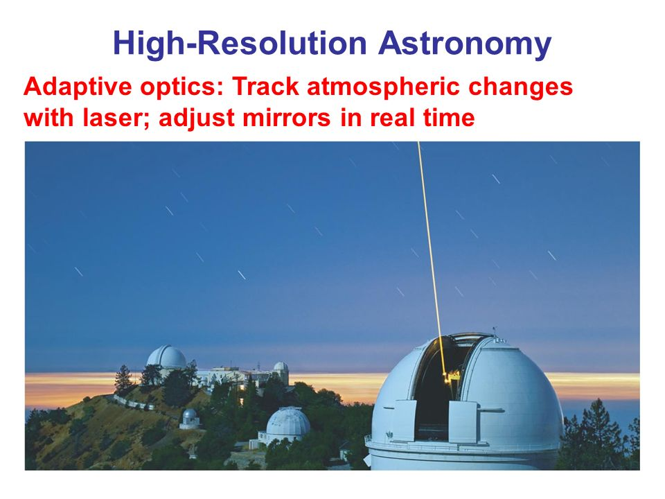 adaptive optics in astronomy pdf