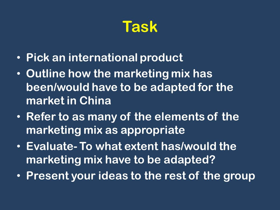 the task of an international marketer Roles & responsibilities of a marketing manager in the hotel industry by ian linton updated march 26, 2018.