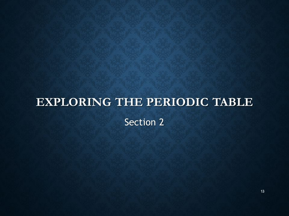 Periodic table chapter ppt video online download exploring the periodic table urtaz Images