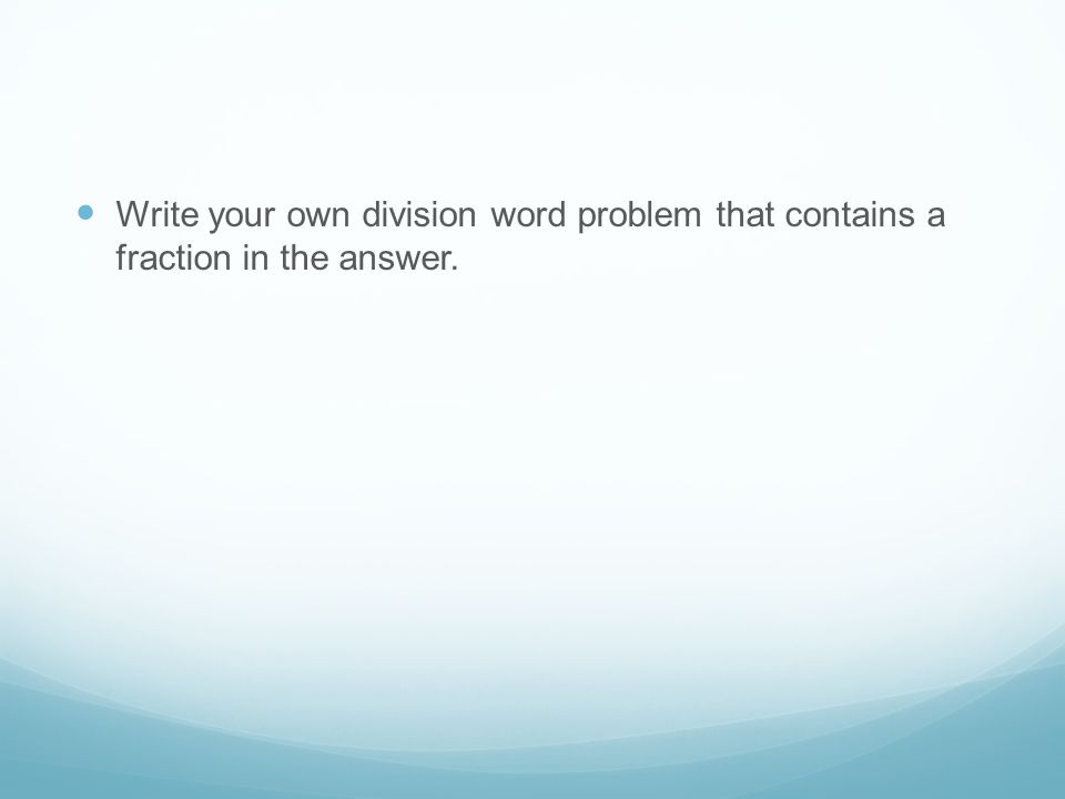 Write a fraction in word