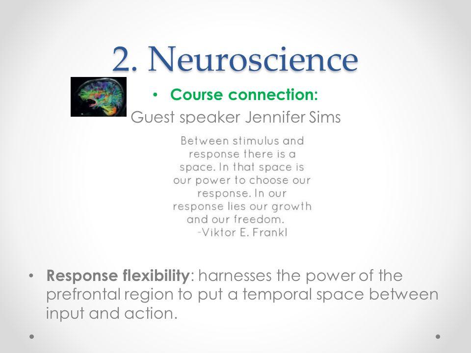 Guest speaker Jennifer Sims