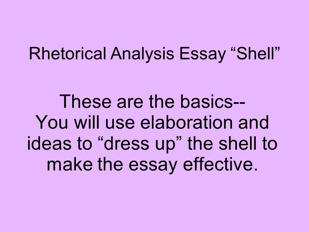 rhetorical analysis of dear students Rhetorical analyses-or how do people talk about stuff this may not be the only time in your life that you will be asked to do a rhetorical analysis dear students: dear students: dear students: recent comments.