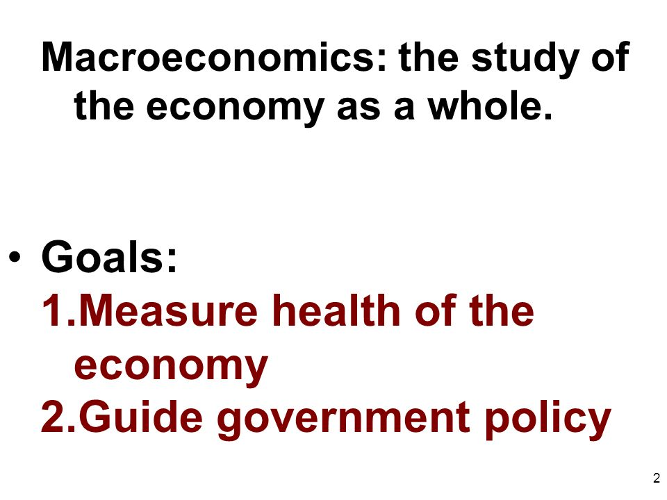 macroeconomic aims of a government essay By stephen simpson given the enormous scale of government budgets and the  impact of economic policy on consumers and businesses, macroeconomics.